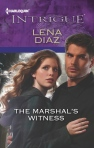 Cover-The Marshal's Witness - Lena Diaz