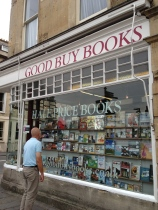 Used bookstore in Bath, UK
