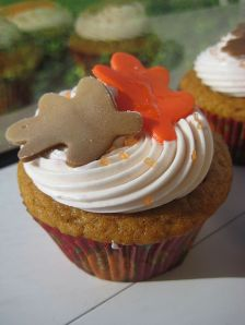Thanksgiving cupcake