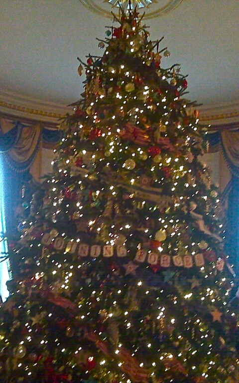 White House Christmas Tree 2012