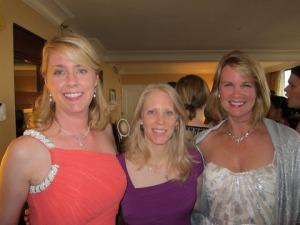 Sharon, Gwen, and Sarah before the 2013 GH/RITA Awards in Atlanta.