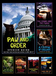 Chet & Bernie Book Covers